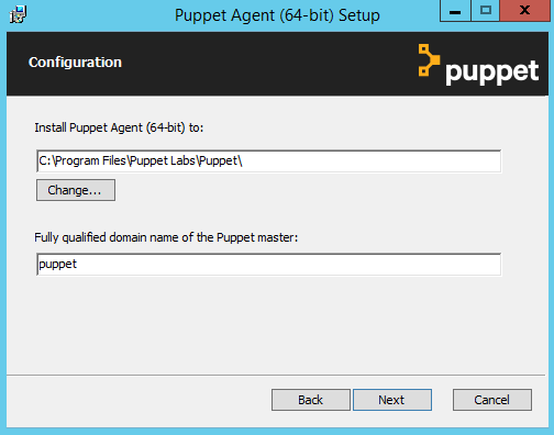 Installing Puppet agent: Microsoft Windows - Open Source Puppet 5 5